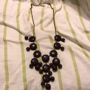 Brown Bubble Necklace